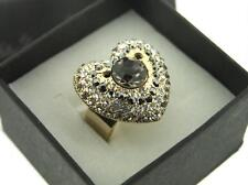 Modeschmuck-Ringe im Cocktail-Stil mit Herz-Schliffform