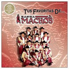 Tus Favoritas De Banda Machos CD