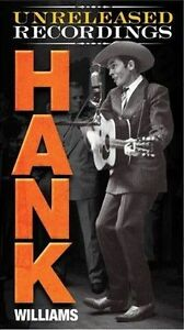 The Unreleased Recordings by Hank Williams Deluxe Edition 3 CD's in booklet case