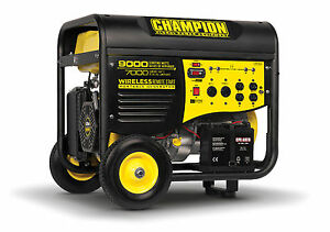 41532R - 7000/9000w Champion Generator, Remote Start - REFURBISHED