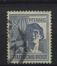 Germany Allied Occupation 1947 SG#943 80pf Labourer Used #A2697