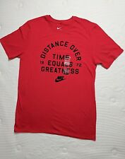 3ac17cb57 New NIKE DISTANCE OVER TIME EQUALS GREATNESS 1972 - Men's Size Medium  T-Shirt