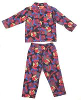 Marvel Spider-Man Boy's Kids Grey 2-Piece Pajama Set Sleepwear Size 4