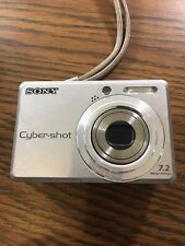 Sony Cyber-shot DSC-S730 Digital Camera 7.2MP Silver