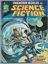 Unknown Worlds of Science Fiction #4 (Jul 1975,Marvel) Brunner/Corben/etc VF-