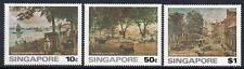SINGAPORE MNH 1976 SG279-81 Paintings of Old Singapore