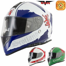 V-Can Thermo-Resin ACU Approved Motorcycle Helmets
