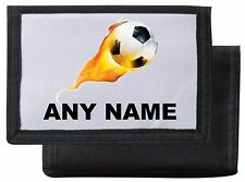Personalised Football Wallet/Purse *Pink/Blue/Black/Red* By Mayzie Designs®