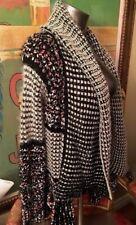 Anthropologie LA FEE VERTE Confetti Shawled Cardigan Sweater (M) EUC! Soft!