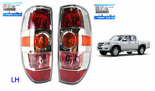 CHROME LH+RH REAR TAIL LAMP LIGHT FIT MAZDA BT50 BT-50 XTR UTE PICK UP 2008-2011