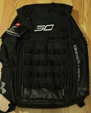 UNDER ARMOUR UA SC30 BACKPACK BASKETBALL BAG, BLACK/SILVER, 1262140-001