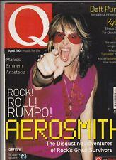 Q Music Mag Daft Punk Aerosmith Steve Tyler April 2001 112619nonr