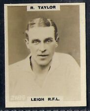 PINNACE FOOTBALL-PINNACE BACK-#2184- RUGBY - LEIGH RFL - R. TAYLOR