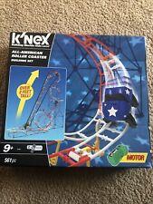 New Open Box K'Nex All American Roller Coaster Building Set #55400 561 Pieces