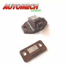 High Quality Nylon Roller Catch, (Brown) for Caravans and Motorhomes