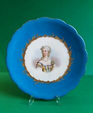 Sevres Porcelain display plate Madame du Barry