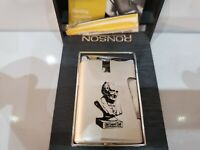 Ronson Lighter Varaflame Comet Vintage OLD GRAND DAD ORIGINAL BOX, DOCS. 1183.24