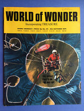 World of Wonder - no.81 - 9th OCTOBRE 1971 - Le Sport That's sur The Way Up