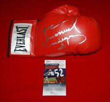 boxing legend JUAN MANUEL MARQUEZ signed laced everlast glove JSA COA 7