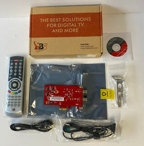 TBS6281 DVB-T2/T/C Dual Tuner PCle TV Card with Accessories. NEW.