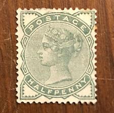 Great Britain Scott No. 78 Unused Victoria 1/2d Of 1880 H