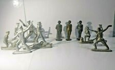 TIN SOLDIER SET Soviet vintage Toy Red Army Military mix of 12 Original Soldier*