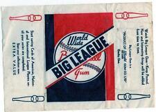1936 V355 World Wide Gum Baseball Card Wrapper Goudey Big League Canada