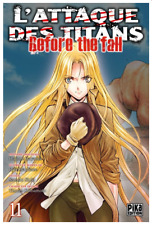 manga L'Attaque des Titans - Before The fall Tome 11 Seinen Hajime Isayama Pika