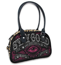 Liquor Brand Stay Gold Goth Eye Bad Star Bowling Bag Handbag Purse B-BW-024