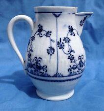 Antique 18thC Thuringia German Gotha Rauenstein Strawflower Hot Water Jug