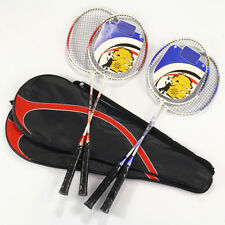 Best-selling 1Pair high-strength Aluminium Alloy Badminton Racket Racquet BagATA