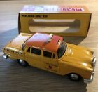 Metosul Portugal Mercedes-Benz Amsterdam Taxi Very Good Boxed Condition Yellow
