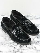 RUSSELL & BROMLEY MENS Velvet Leather KEEBLE Loafers Shoes, Size EU 43 / UK 9