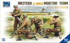 Riich Models 1/35 British 3inch Mortar Team Set (North West Europe)