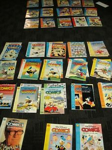 CARL BARKS LIBRARY OF WALT DISNEY COMICS STORIES IN COLOR Complete 51 Vol Set Ex