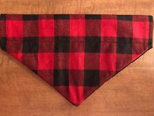 Lumber Jack Over the Collar Dog Bandana  Plaid Collection