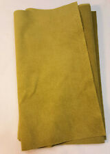 Genuine ULTRASUEDE LIGHT Faux Suede Fabric - 1/4 yard piece - WILLOW