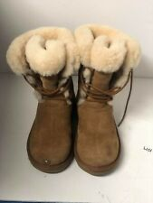 UGG AUSTRALIA SOPHY 3285 LEATHER BOOTS  Size 5 #42 $150