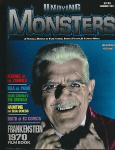 UNDYING MONSTERS magazine # 0 Boris Karloff Zombies Roger Corman 2011