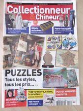 COLLECTIONNEUR CHINEUR N°128 JUIN 2012 - PUZZLES, PORTE BOUQUETS, etc...