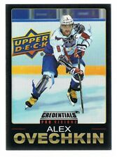 2019-20 UPPER DECK UD CREDENTIALS PRO VISIONS # 4 of 6 Alex Ovechkin !!