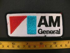 Embroidered patch AM GENERAL humvee military AMERICAN MOTORS amc chrysler Hummer