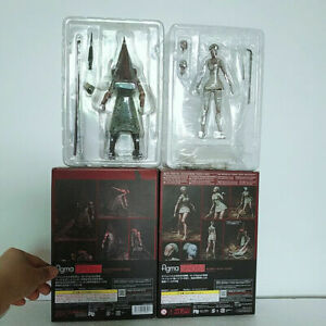 Silent Hill 2 Red Pyramid Thing & Bubble Head Nurse PVC Action Figure New In Box