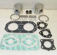WSM Kawasaki 750 Piston Top End Rebuild Kit 20mm - 010-820-11 - .25mm SIZE