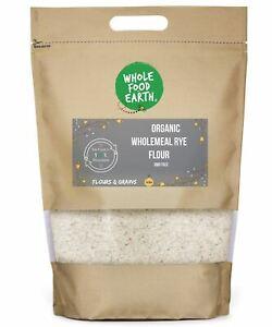 Organic Wholemeal Rye Flour   GMO Free