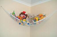 Toy Hammock Hanging Storage Net Stuffed Animals Toys Kids Organizer