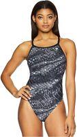 TYR Women Plexus Diamondfit Swimsuit Swimwear One Piece Black Beach Size 30 $ 80