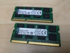 16GB Kit (2x8GB) 1600MHz DDR3 PC3-12800 Non-ECC CL11 SODIMM Laptop Memory RAM