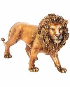 Jay Strongwater Ari Stalking Lion Figurine