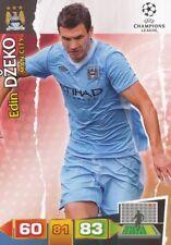 EDIN DZEKO  MANCHESTER CITY.FC CARD ADRENALYN CHAMPIONS LEAGUE 2012 PANINI